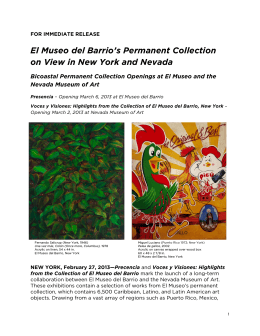 El Museo del Barrio`s Permanent Collection on View in New York