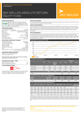 BNY MELLON ABSOLUTE RETURN EQUITY FUND