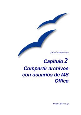 Capitulo 2 Compartir archivos con usuarios de MS Office