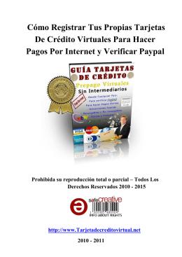 Cómo Registrar Tus Propias Tarjetas De Crédito Virtuales Para