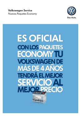 Volkswagen Service Nuevos Paquetes Economy