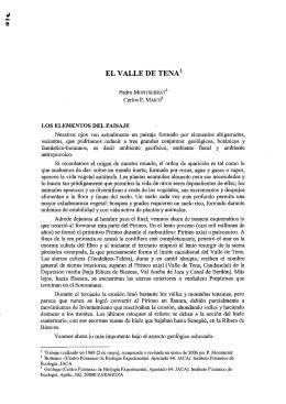 El valle de Tena - Publicaciones del Prof. Pedro Montserrat Recoder