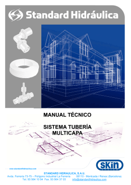 Manual técnico Sistema multicapa 2011