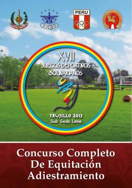 Concurso Completo De Equitación Adiestramiento