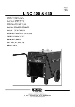 LINC 405 & 635 - service navigator