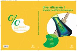 Diversificación I ámbito científico-tecnológico