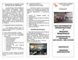 UNELLEZ VICE-RECTORADO DE INFRAESTRUCTURA Y