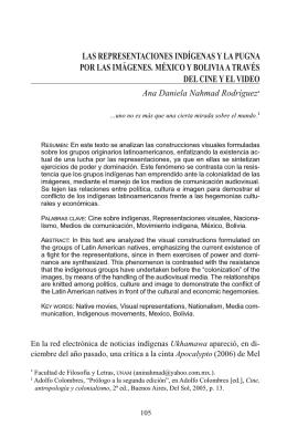 revista latinoamerica - Centro de Investigaciones sobre América
