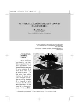 el número k - Revista eumesa de estudios