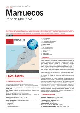 Ficha informativa Marruecos