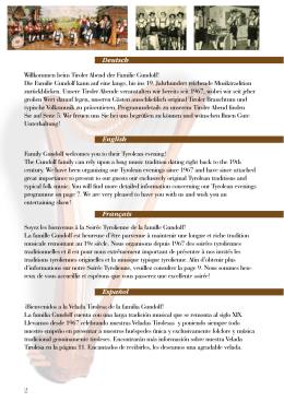 Programme en 8 langues: pour télécharger le PDF