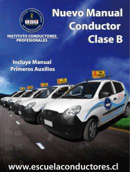 Nuevo Manual Conductor Clase B Nuevo Manual Conductor Clase B