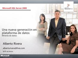 Minería de datos - BLOG DE ALBERTO RIVERA