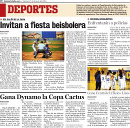 Gana Dynamo la Copa Cactus