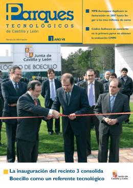 La inauguración del recinto 3 consolida Boecillo como un referente