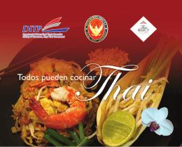 Todos pueden cocinar Thai - Embajada Real de Tailandia en México