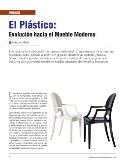 Muebles El Plástico - Revista El Mueble y La Madera