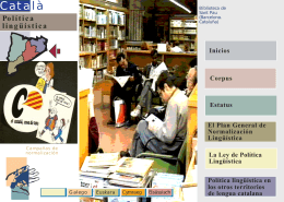 Política Lingüística Catalana