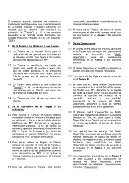 Contrato de Tarjeta Prepago - Hasta la adecuación (772097