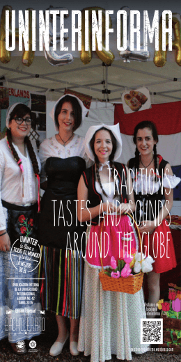 traditions tastes and sounds around the globe