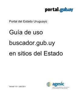 Guía de utilización de buscador.gub.uy( 400kb)