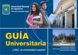 Guía Universitaria - Universidad Nacional de Cajamarca