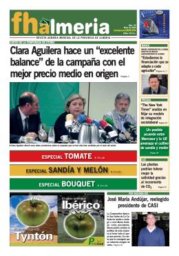 Mayo 2010 - Frutas y Hortalizas de Almería