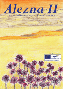 Nº 2 de la revista del I.E.S. de Candás - Año 2013