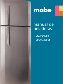 Manual Refrigerador