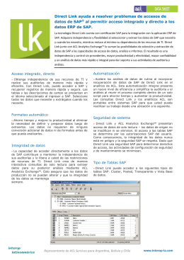 Direct Link ayuda a resolver problemas de accesos de datos de