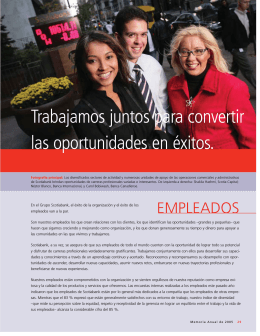 Empleados - Scotiabank