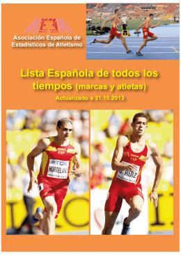 Descarga Lista Española de todos los Tiempos