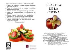 Guía El arte de la cocina