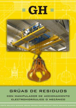 GRÚAS DE RESIDUOS