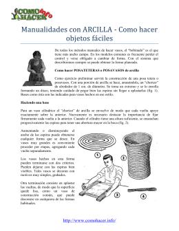 Manualidades con ARCILLA - Como hacer objetos fa ciles