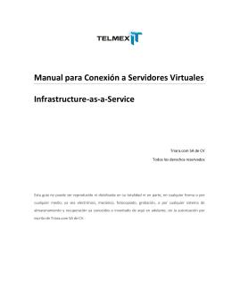 Manual para Conexión a Servidores Virtuales