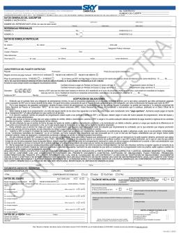 Contrato de Suscripción