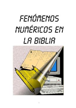 Fenómenos numéricos en la Biblia