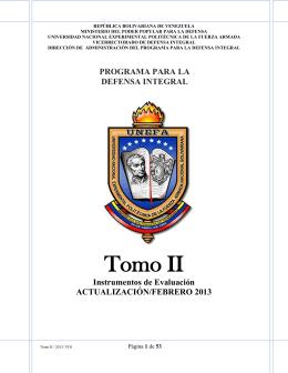 Tomo II Defensa Integral (ACTUALIZACIÓN FEBRERO 2013)
