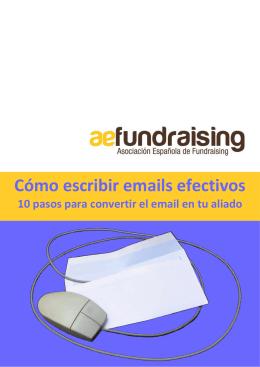 Cómo Escribir Emails Efectivos - Asociación Española de Fundraising