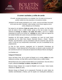 Ver Boletín - Asociación Colombiana de Porcicultores