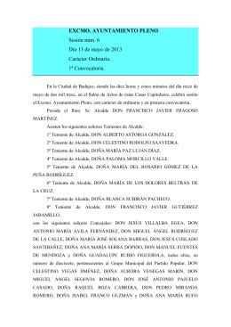 Descargar Excmo. Ayuntamiento Pleno 13/05/2013