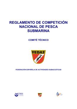 Reglamento de Pesca Submarina para 2015