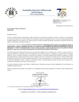Pentathlón Deportivo Militarizado Universitario