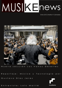 Descarga Musikenews nº6