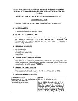 Bases - Gobierno Regional de San Martín