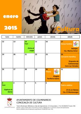 enero - AYUNTAMIENTO DE COLMENAREJO