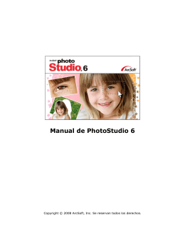 Manual de PhotoStudio 6