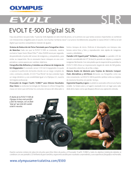 EVOLT E-500 Digital SLR