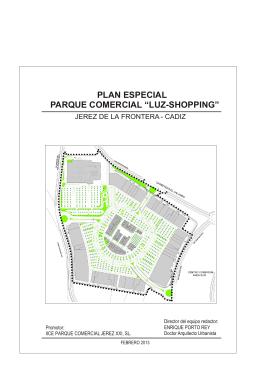 """plan especial """"parque comercial luz"""